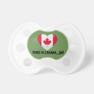 CANADIAN BABY PACIFIER/SOOTHER DUMMY
