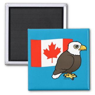 Canadian Bald Eagle Magnet