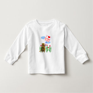 Canadian Beaver Loves the Yukon Toddler T-Shirt