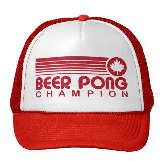 Canadian Beer Pong Trucker Hats