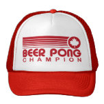 Canadian Beer Pong Hats