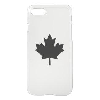 Canadian Black Maple Leaf iPhone 7 Case