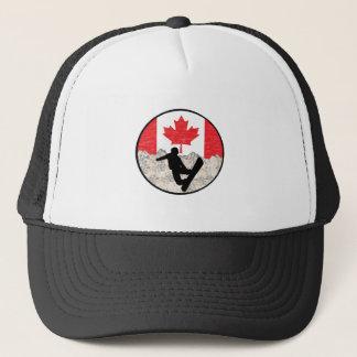 Canadian Boarders Trucker Hat