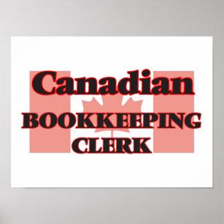 Canadian Bookkeeping Clerk Poster