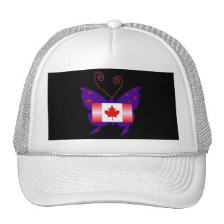 Canadian Butterfly Diva Cap