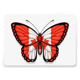 Canadian Butterfly Flag Announcement