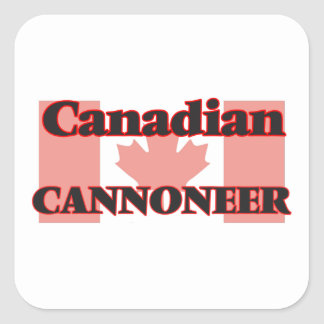 Canadian Cannoneer Square Sticker