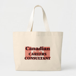 Canadian Careers Consultant Jumbo Tote Bag