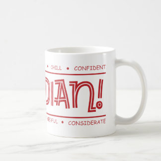 Canadian Characteristics!  Full Wrap Design Mug