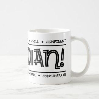 """Canadian Characteristics"" Full Wrap Design Mug"