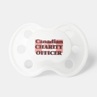 Canadian Charity Officer Pacifiers