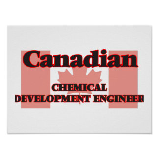 Canadian Chemical Development Engineer Poster