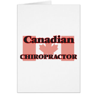 Canadian Chiropractor Card