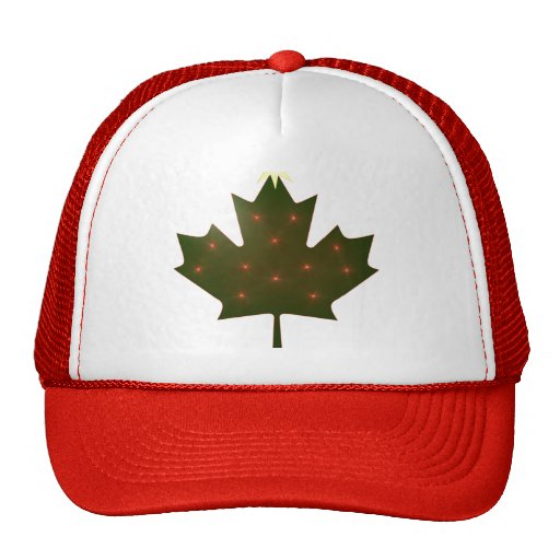 Canadian Christmas Hat