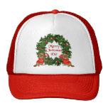 Canadian Christmas Mesh Hats