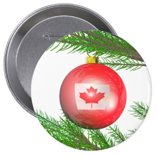 Canadian Christmas Tree Decoration Buttons