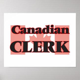 Canadian Clerk Poster