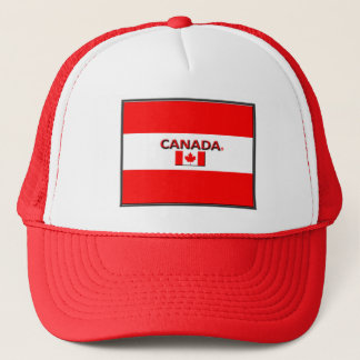 Canadian Colors Flag Trucker Hat