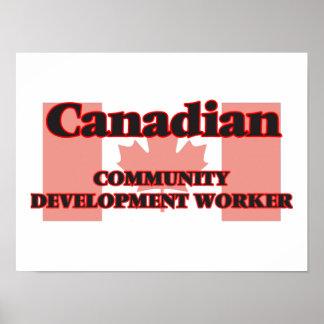 Canadian Community Development Worker Poster