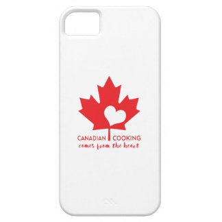 Canadian Cooking Comes from the Heart iPhone 5 Cases