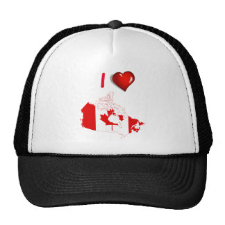 Canadian country flag cap