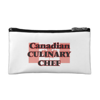 Canadian Culinary Chef Cosmetic Bags