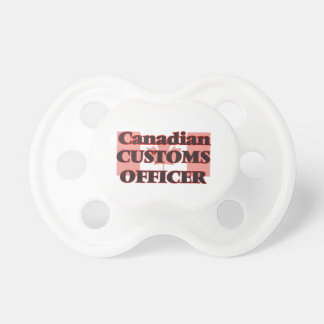 Canadian Customs Officer Baby Pacifiers