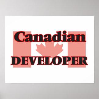 Canadian Developer Poster
