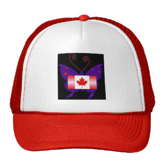 Canadian Diva Butterfly Hat