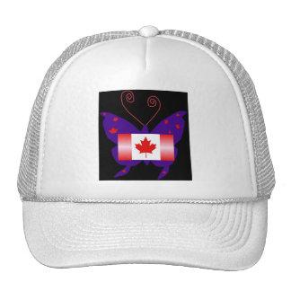 Canadian Diva Butterfly Trucker Hat