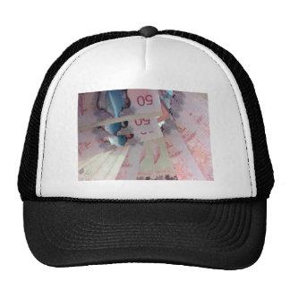 Canadian Dollars Trucker Hats