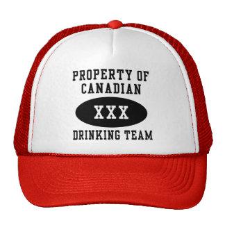 Canadian Drinking Team Mesh Hats