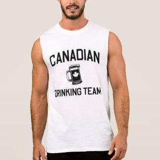 Canadian Drinking Team Sleeveless Shirt