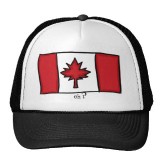 "Canadian ""eh?"" hat"