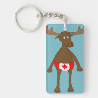 Canadian, Eh? Moose Key Ring