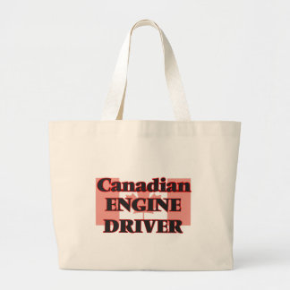 Canadian Engine Driver Jumbo Tote Bag