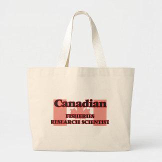 Canadian Fisheries Research Scientist Jumbo Tote Bag