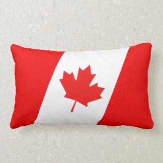 Canadian Flag American MoJo Pillow