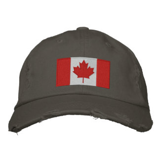 Canadian Flag Baseball Cap