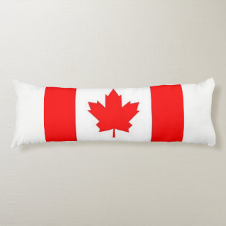 Canadian Flag Body Pillow