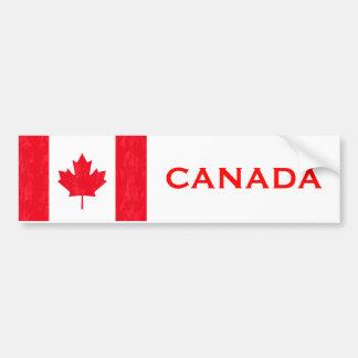 CANADIAN FLAG BUMPER STICKER