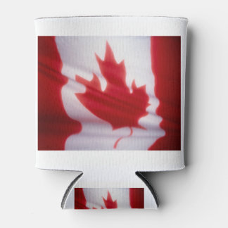 CANADIAN FLAG CAN COOLER