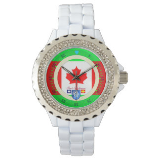Canadian Flag Canada Port Richman Nautical Watch