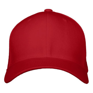 Canadian Flag Cap Embroidered Hat