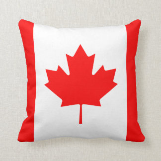 Canadian Flag Cushion