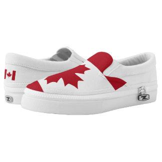 Canadian Flag Flag -.png Slip-On Shoes
