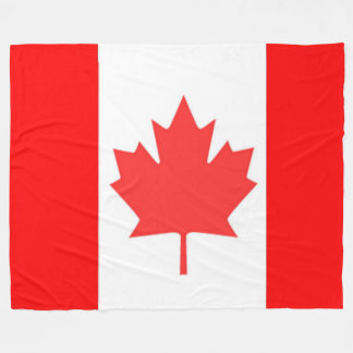 CANADIAN FLAG FLEECE BLANKET