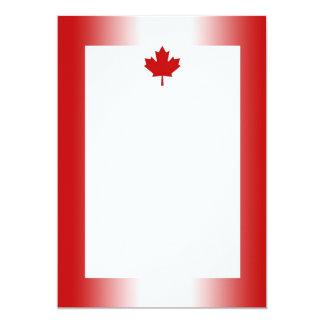 Canadian Flag Gradient 2 Invitation