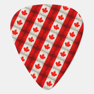Canadian Flag Guitar Pick