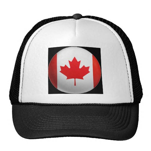 Canadian Flag Hats